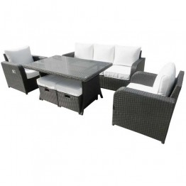 Dylan Sofa Dining Set With Two Recliner Armchairs - RT210