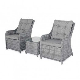 Heritage 2 Armchair & Coffee Table Bistro Set