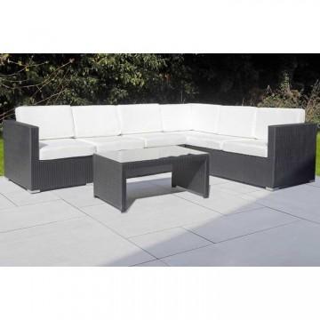 Palmer Corner Sofa & Table - 284 x 218cm