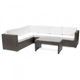 Palmer Corner Sofa & Table - 284 x 218cm