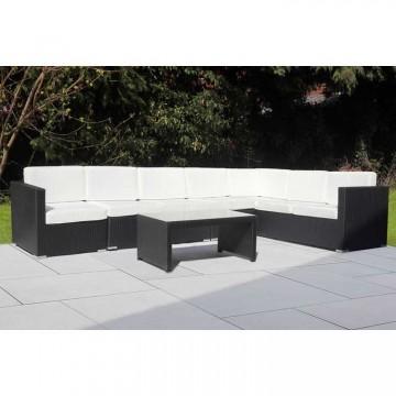 Palmer Large Corner Sofa & Table - 350 x 218cm