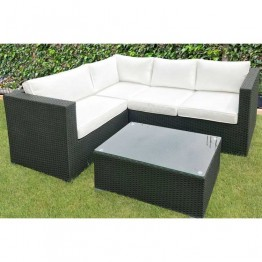 Roma Corner Sofa & Table 206 x 152cm