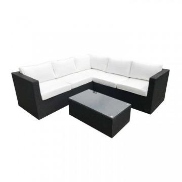 Roma Corner Sofa & Table 206 x 206cm