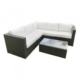 Roma Corner Sofa & Table 206 x 206cm