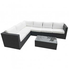Roma Corner Sofa & Table 266 x 206cm