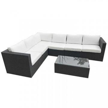 Roma Corner Sofa & Table 266 x 206cm