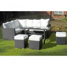 Venice Sofa Dining Set with Stools