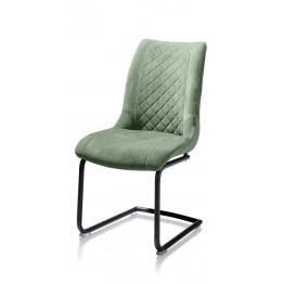 Habufa 22441 Armin Plush Velvet Dining Chair - Olive