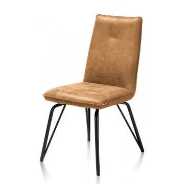 Habufa 36952 Bella Dining Chair - Cognac