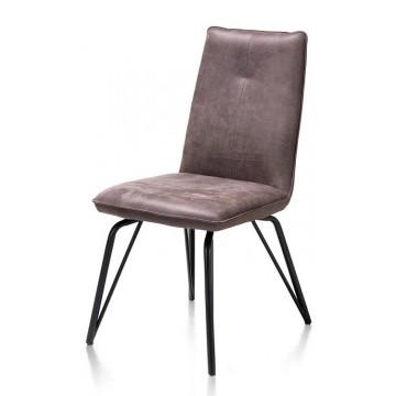 Habufa 36952 Bella Dining Chair - Lava Grey