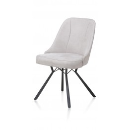 Habufa 29979 Eefje Dining Chair - Light Grey
