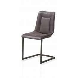 Habufa 29805 Marcella Dining Chair - Coffee on Vintage Frame