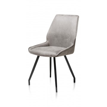 Habufa 29754 Scott Dining Chair - Light Grey