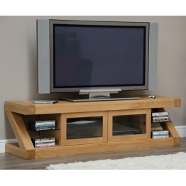 Z Designer Glazed TV Unit