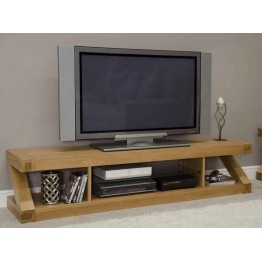 Z Designer TV Unit - Large Plasma Unit - Open Front