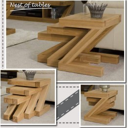 Z Designer Nest of Tables