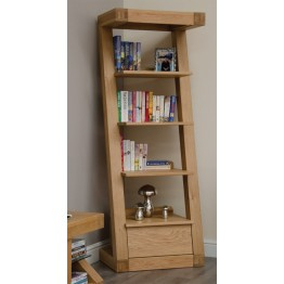 Z Designer One Drawer Narrow Bookcase