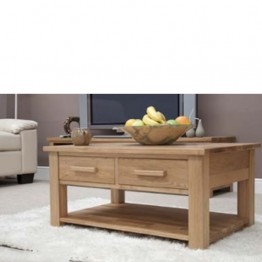 Opus 3 x 2 Coffee Table With Drawers