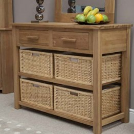Opus Basket Hall Table