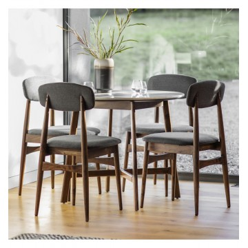 Hudson Living Barcelona Round Dining Table