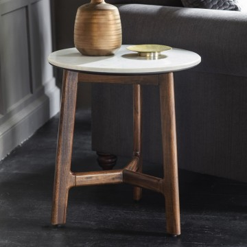 Hudson Living Barcelona Side Table