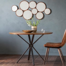 Hudson Living Barnes Round Bistro Dining Table