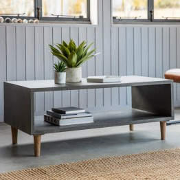 Hudson Living Bergen Cube Coffee Table