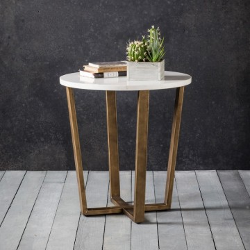 Hudson Living Cleo Side Table