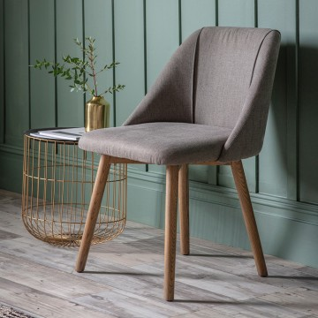 Hudson Living Elliot Dining Chairs - Only available as a pack of 2  - SLATE GREY COLOUR