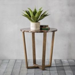 Hudson Living Emperor Side Table
