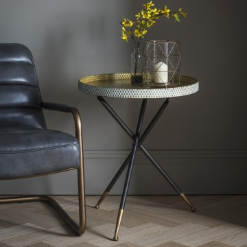 Hudson Living Epsom Tripod Table