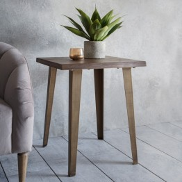 Hudson Living Foundry Side Table