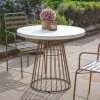 Hudson Living Norwood Retro Side Chairs - Only available as a pack of 2  - with Taupe Linen seat pad