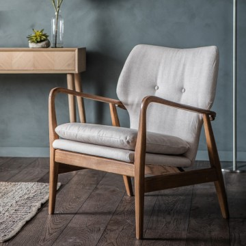 Hudson Living Jensen Chair in Natural
