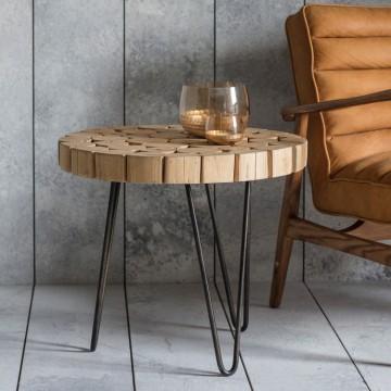 Hudson Living Kelstern Side Table