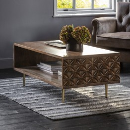 Hudson Living Kerala Coffee Table or Media Table