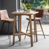 Hudson Living Palmer Bar Stool  - Only available as a pack of 2 - BROWN