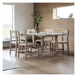 Hudson Living Kielder Dining Table - 185cm Long