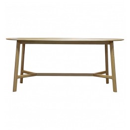 Hudson Living Madrid Oval Dining Table