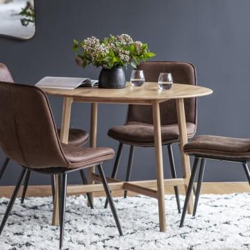 Hudson Living Madrid Round Dining Table