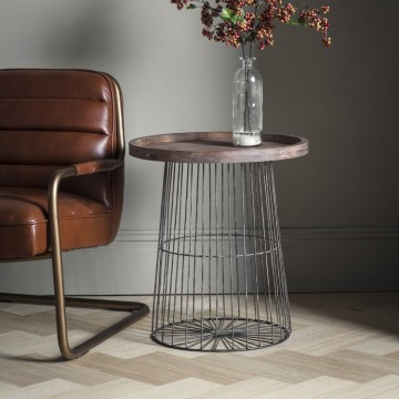 Hudson Living Menzies Lamp Table