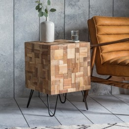 Hudson Living Mosaic Side Table