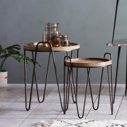 Hudson Living Nuffield Nest of Tables