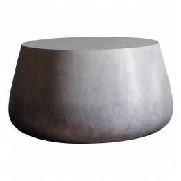 Hudson Living Otley Coffee Table - Ombre Silver