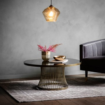 Hudson Living Pickford Coffee Table - Bronze Colour