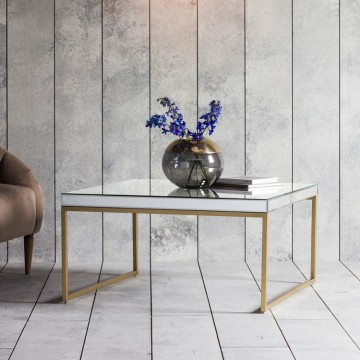 Hudson Living Pippard Coffee Table - Champagne Colour