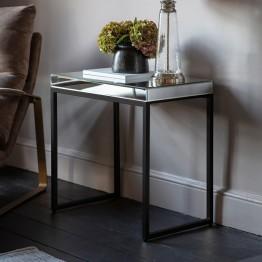 Hudson Living Pippard Side Table - Black Colour
