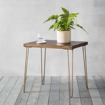 Hudson Living Pompeii Side Table