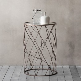 Hudson Living Rowell Side Table