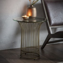Hudson Living Zepplin Side Table